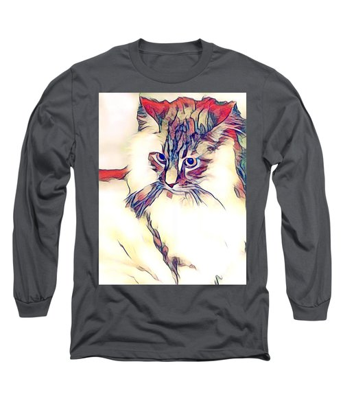 Max The Cat Long Sleeve T-Shirt