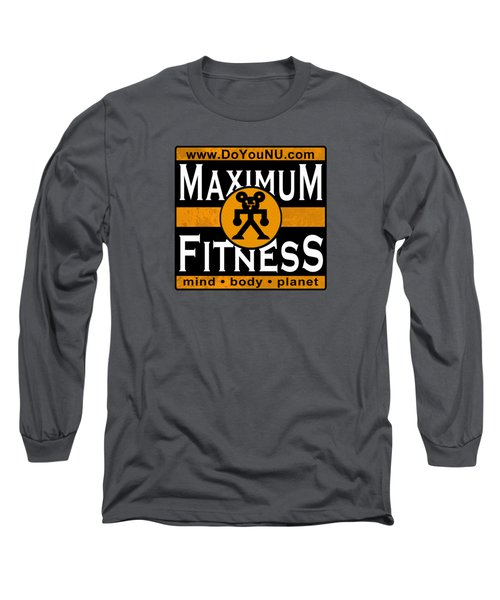 Maxfitness Long Sleeve T-Shirt