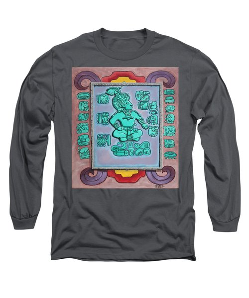 Mayan Prince Long Sleeve T-Shirt