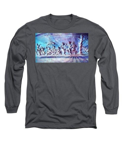 Maypole Dance  Long Sleeve T-Shirt