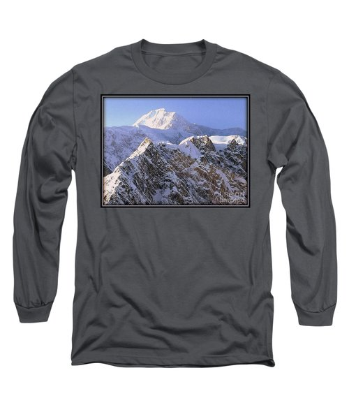 Long Sleeve T-Shirt featuring the photograph Mc Kinley Peak by James Lanigan Thompson MFA