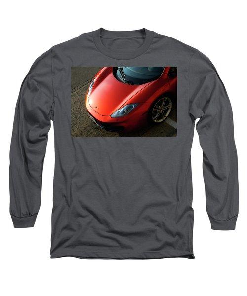 Mclaren Hood Long Sleeve T-Shirt