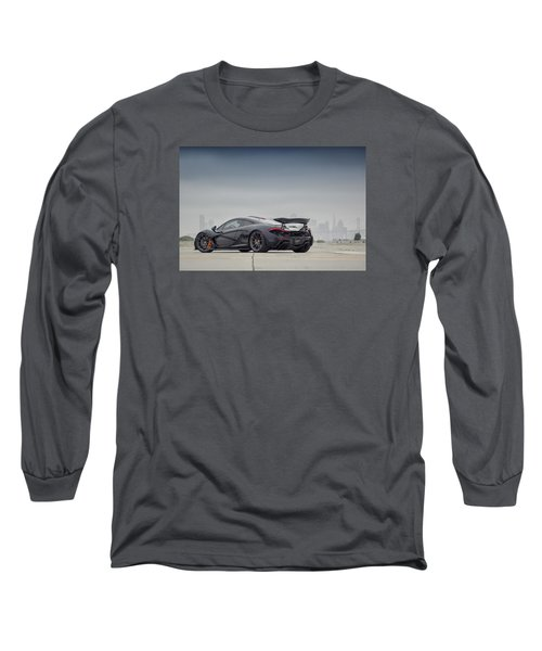 Long Sleeve T-Shirt featuring the photograph #mclaren Mso #p1 by ItzKirb Photography