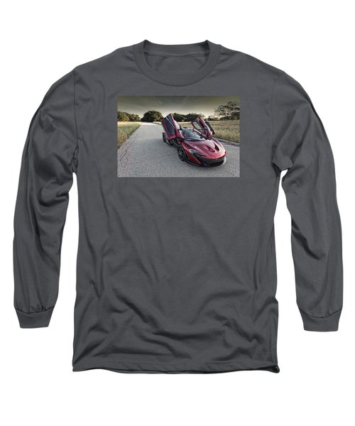 Mclaren P1 Long Sleeve T-Shirt