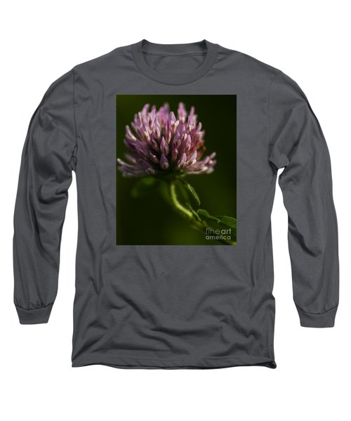 Long Sleeve T-Shirt featuring the photograph Meadow Clover by JT Lewis
