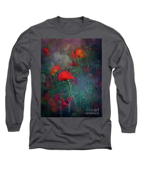 Meadow In Another Dimension Long Sleeve T-Shirt