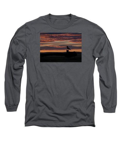 Meadow Lark's Salute To The Sunset Long Sleeve T-Shirt