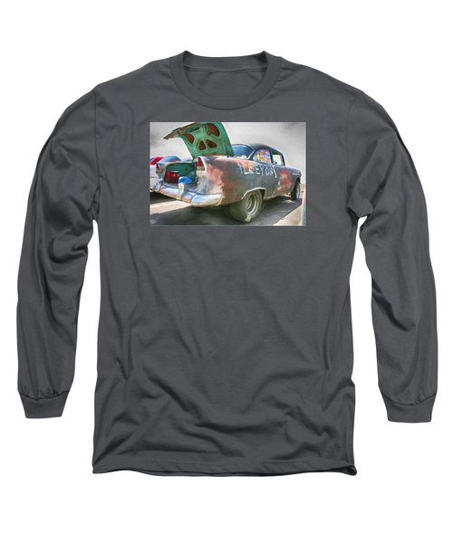 Mean Streets Long Sleeve T-Shirt by Michael Cleere