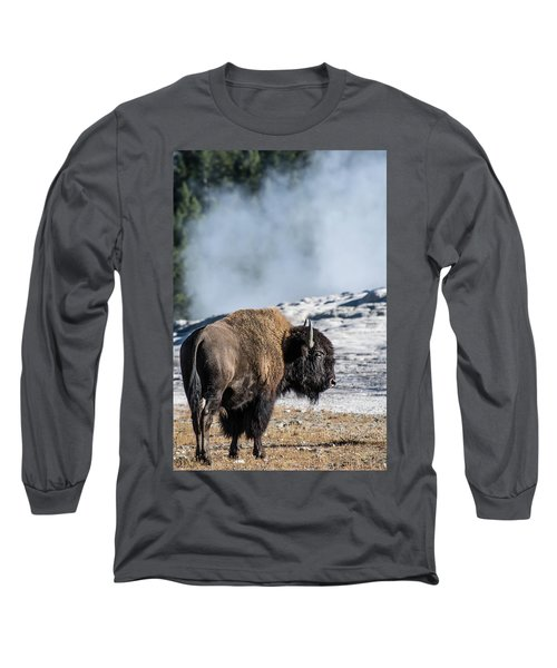 Long Sleeve T-Shirt featuring the photograph Meandering by Colleen Coccia