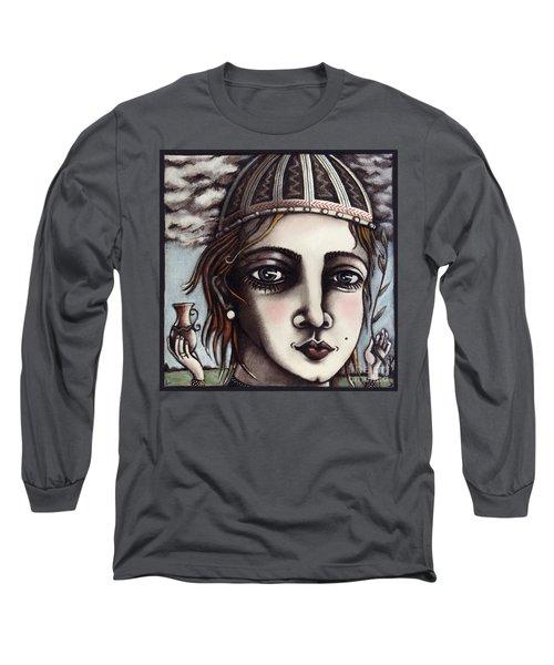 Medieval Herbalist Long Sleeve T-Shirt