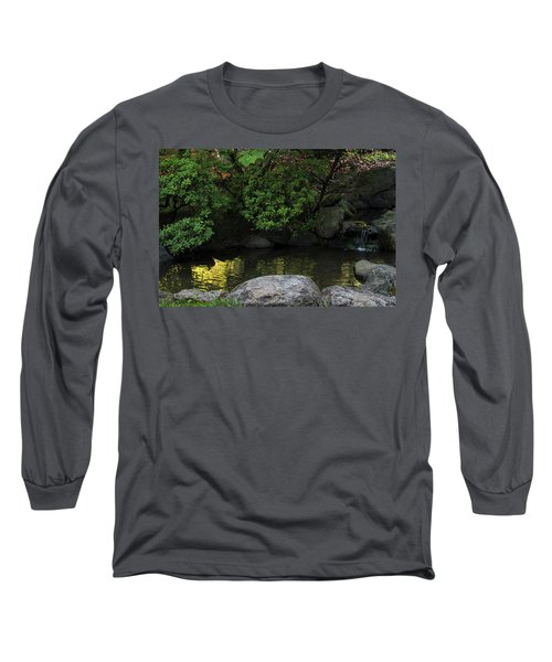Meditation Pond Long Sleeve T-Shirt