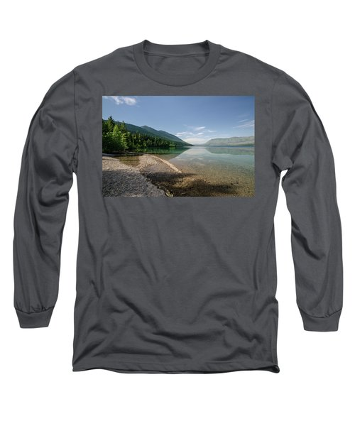 Meditative Mood Long Sleeve T-Shirt