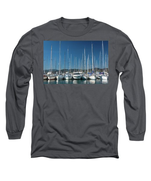 Mediterranean Marina Long Sleeve T-Shirt