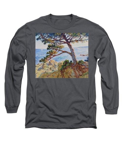 Mediterranean Sea Long Sleeve T-Shirt by Pierre Van Dijk