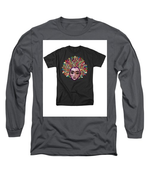 Medusa Bedazzled Tee Long Sleeve T-Shirt