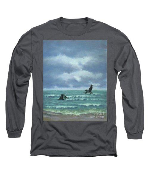 Meet Me At Hatteras Long Sleeve T-Shirt