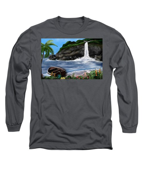 Meet Me At The Beach Long Sleeve T-Shirt