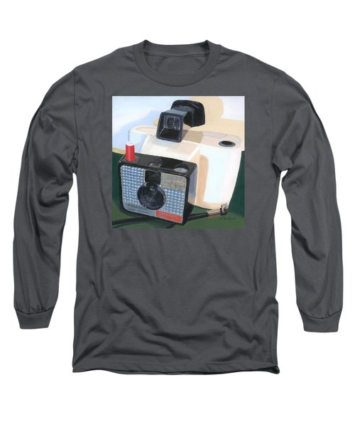 Long Sleeve T-Shirt featuring the painting Meet The Swinger by Lynne Reichhart