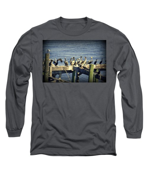 Meeting Of The Minds Long Sleeve T-Shirt