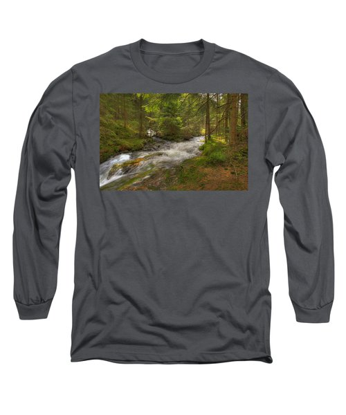 Meeting Of The Streams Long Sleeve T-Shirt
