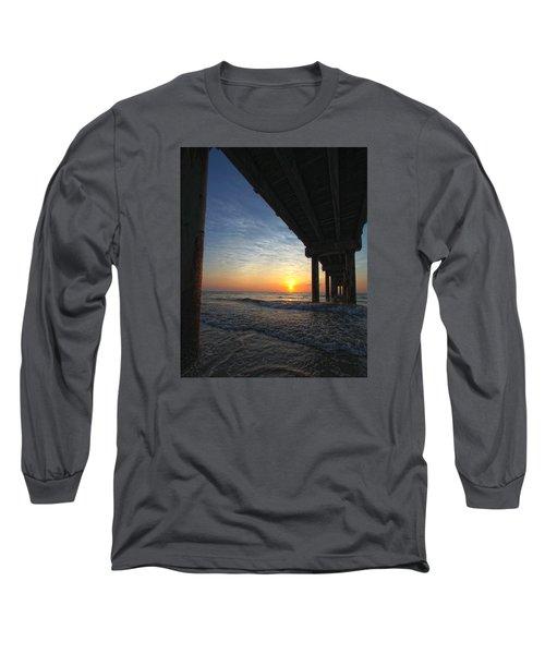 Meeting The Dawn Long Sleeve T-Shirt by Robert Och