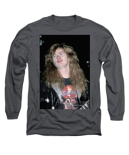 Megadeth Dave Mustaine Long Sleeve T-Shirt