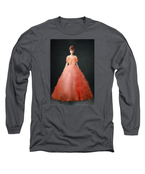 Long Sleeve T-Shirt featuring the digital art Melody by Nancy Levan