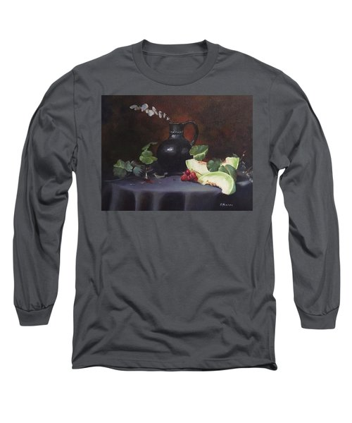 Melon And Vase Long Sleeve T-Shirt