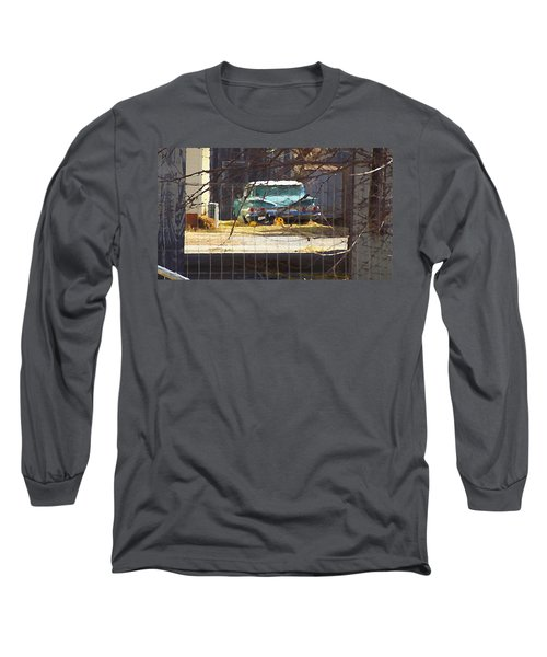 Memories Of Old Blue, A Car In Shantytown.  Long Sleeve T-Shirt