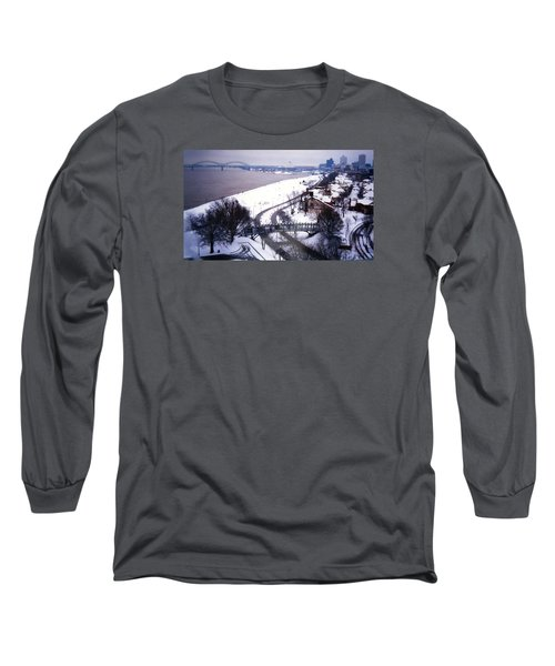 Memphis View From My Penthouse Long Sleeve T-Shirt