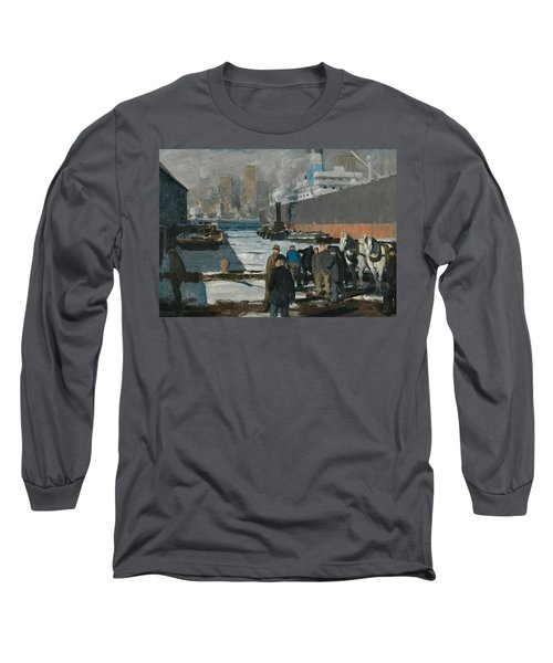Men Of The Docks Long Sleeve T-Shirt