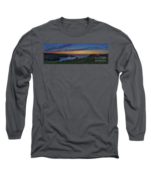 Mendocino Headlands Sunset Long Sleeve T-Shirt