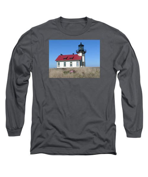 Mendocino Lighthouse Long Sleeve T-Shirt