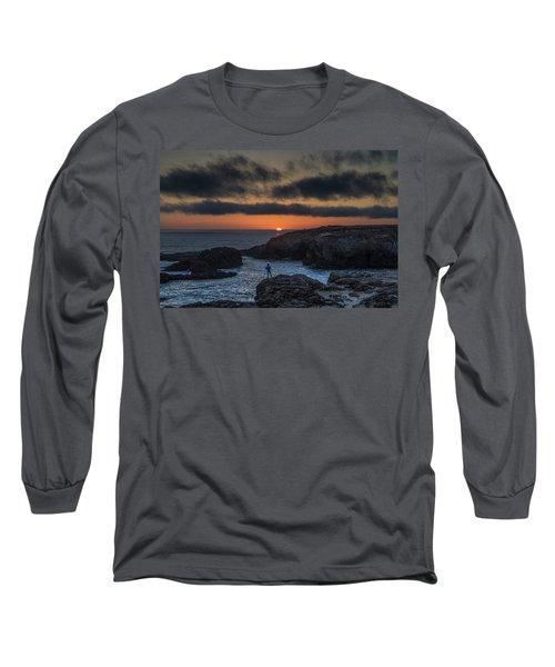 Mendocino Sunset Long Sleeve T-Shirt
