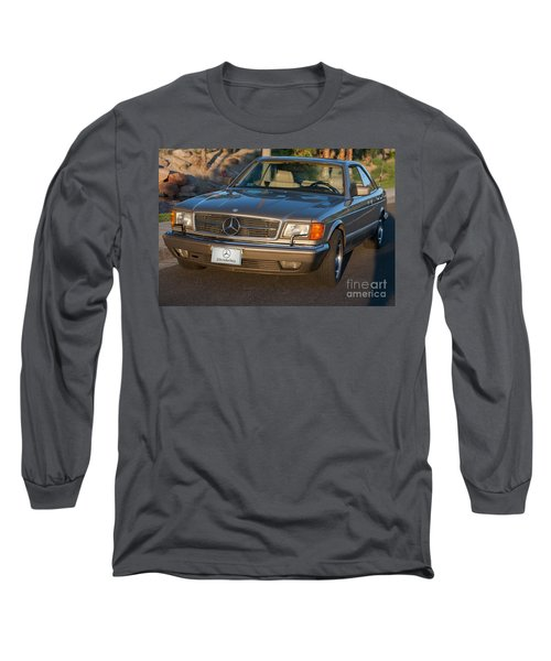 Mercedes 560sec W126 Long Sleeve T-Shirt