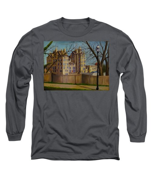 Mercer Museum Long Sleeve T-Shirt by Oz Freedgood