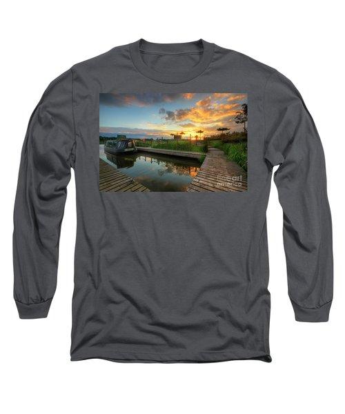 Long Sleeve T-Shirt featuring the photograph Mercia Marina 13.0 by Yhun Suarez