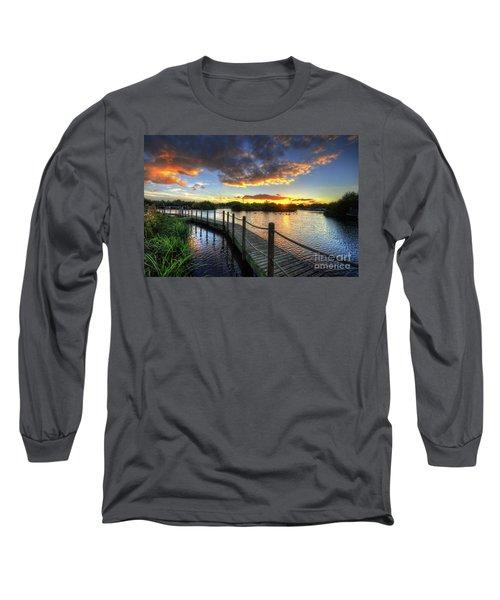 Long Sleeve T-Shirt featuring the photograph Mercia Marina 18.0 by Yhun Suarez