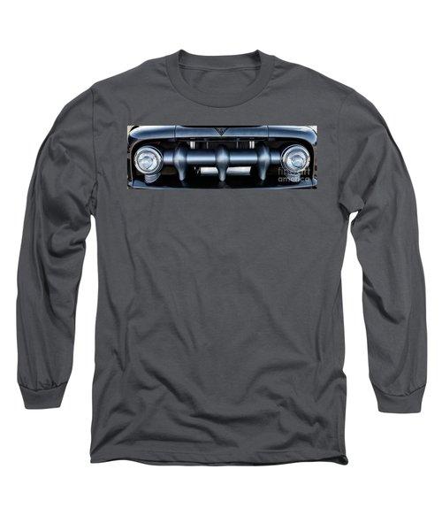 Long Sleeve T-Shirt featuring the photograph Mercury V8 Pickup by Brad Allen Fine Art