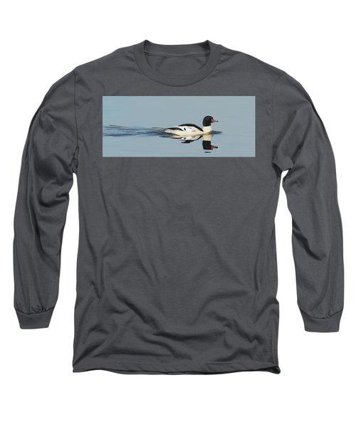 Merganser Panorama Long Sleeve T-Shirt