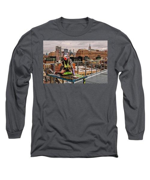 Mermaid On The Whitney Long Sleeve T-Shirt