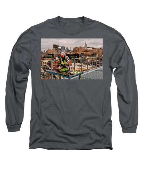 Mermaid On The Whitney Long Sleeve T-Shirt