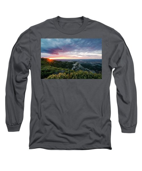 Mesa Verde Sunset Long Sleeve T-Shirt