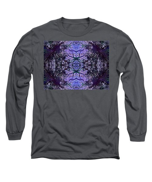 Long Sleeve T-Shirt featuring the photograph Mesmerized By Blue by Joy Nichols