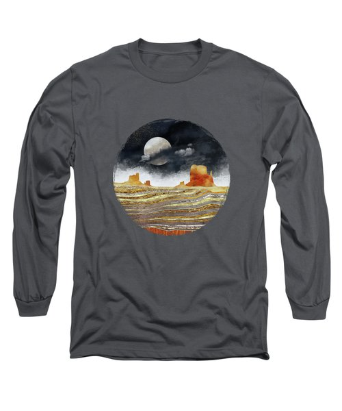 Metallic Desert Long Sleeve T-Shirt