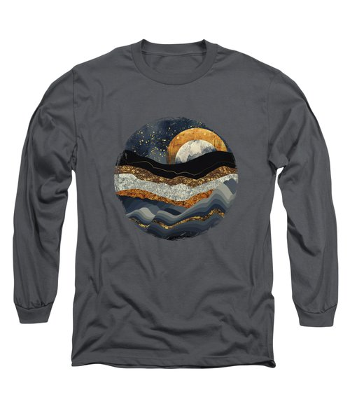 Metallic Mountains Long Sleeve T-Shirt
