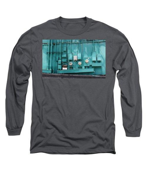 Meter Reader Long Sleeve T-Shirt