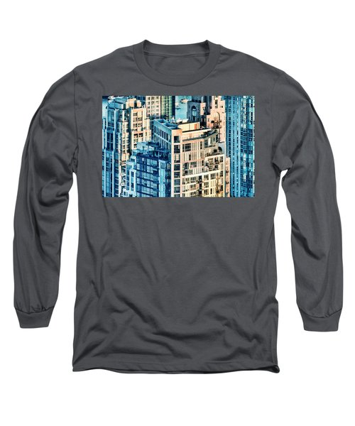 Metropolis Long Sleeve T-Shirt by Amyn Nasser