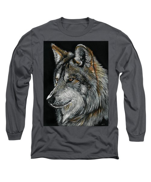 Mexican Wolf Long Sleeve T-Shirt
