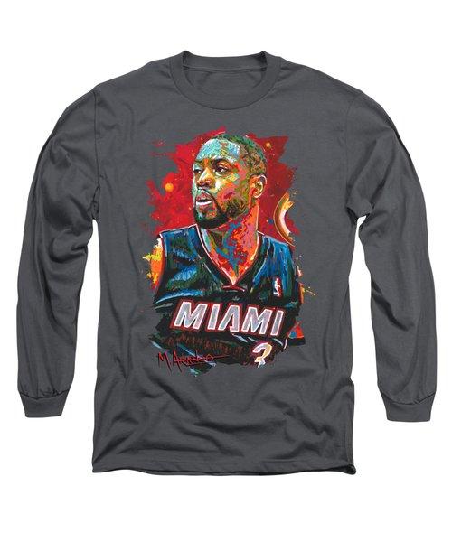 Miami Heat Legend Long Sleeve T-Shirt